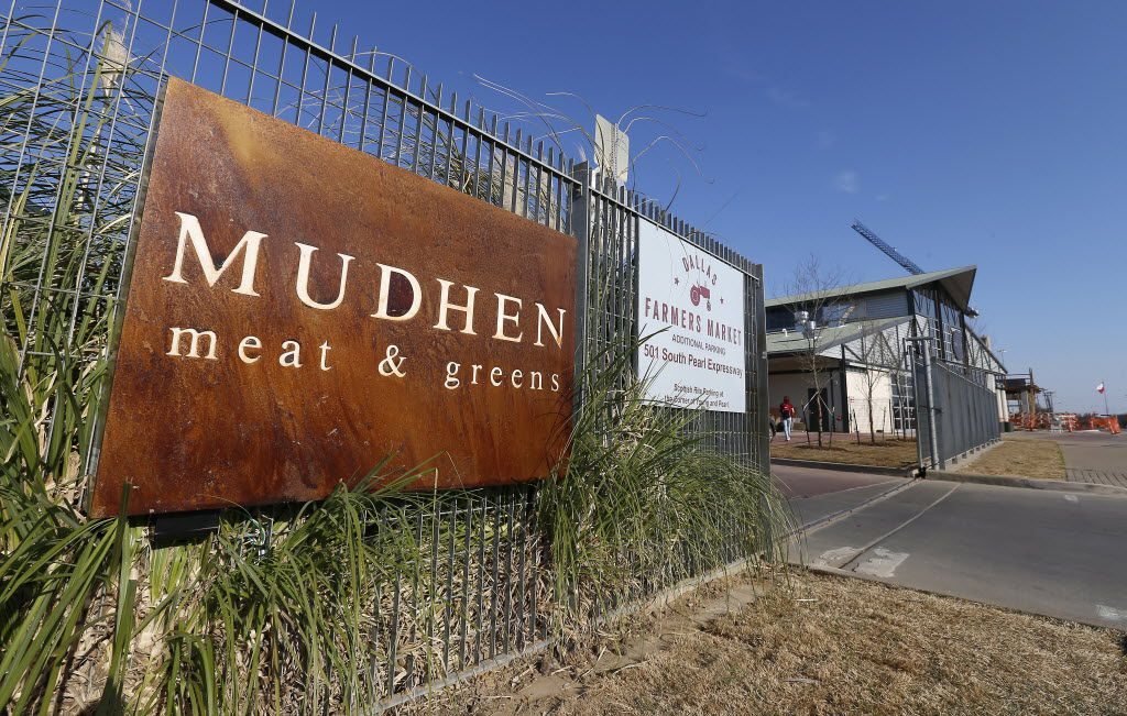 Mudhen is across from the new market hall (formerly known as Shed No. 2) at Dallas Farmers Market.