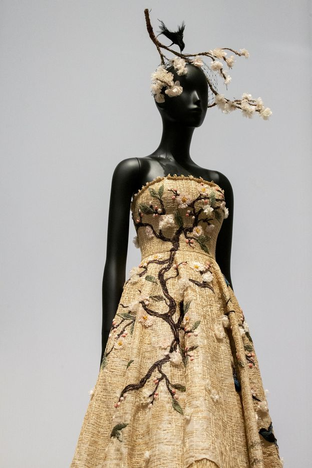 A design by Maria Grazia Chiuri, Dior's first female (and current) designer.