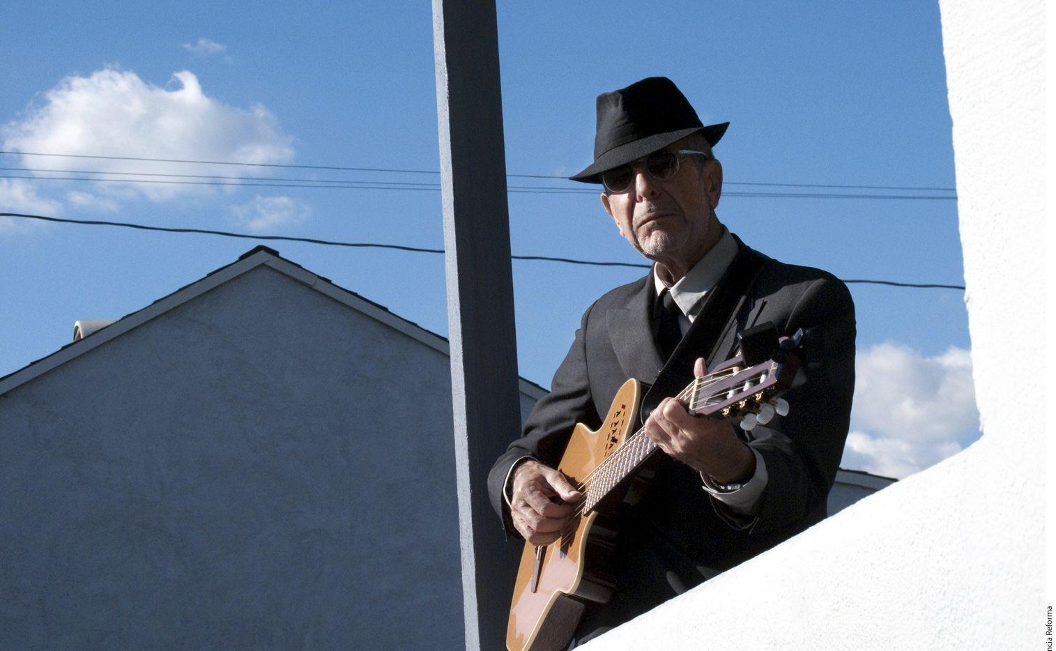 Los restos del cantautor y poeta Leonard Cohen serán velados en Los Ángeles, California. /AGENCIA REFORMA