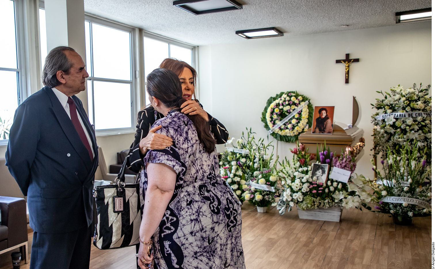 Mercedes Pascual falleció a los 88 años a causa de un paro respiratorio. Foto de Agencia Reforma