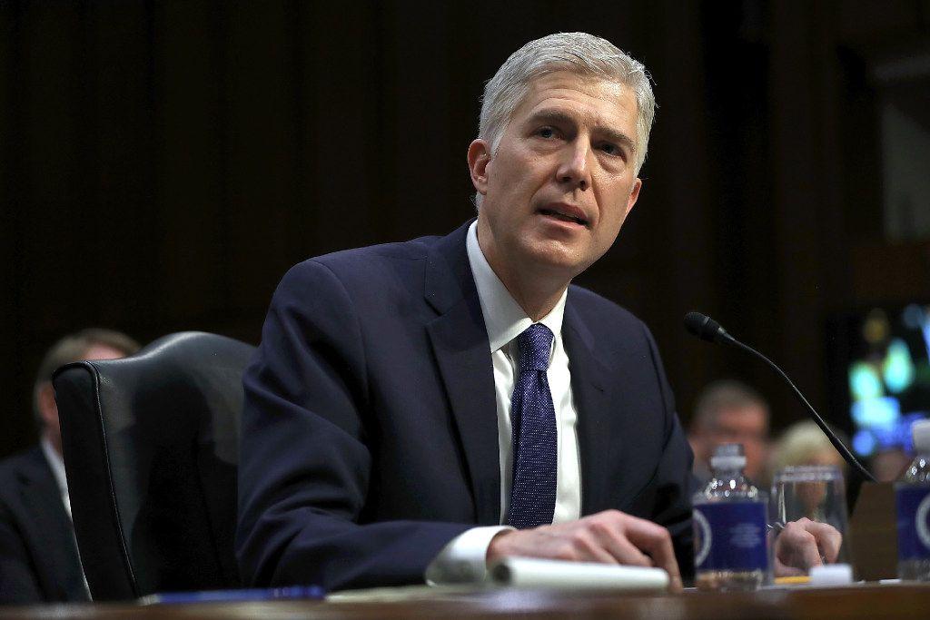 Supreme Court nominee Judge Neil Gorsuch (Justin Sullivan/Getty Images)