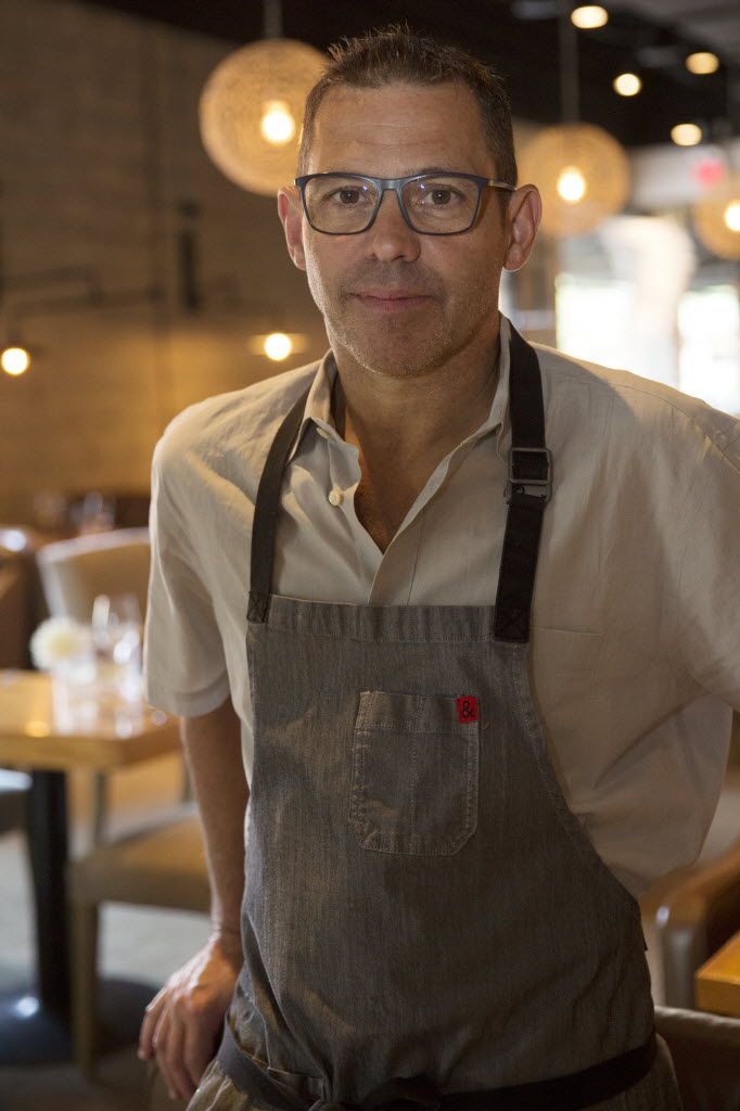 Chef John Tesar, who leads the kitchens at Knife, Oak and El Bolero in Dallas, is no stranger to television.