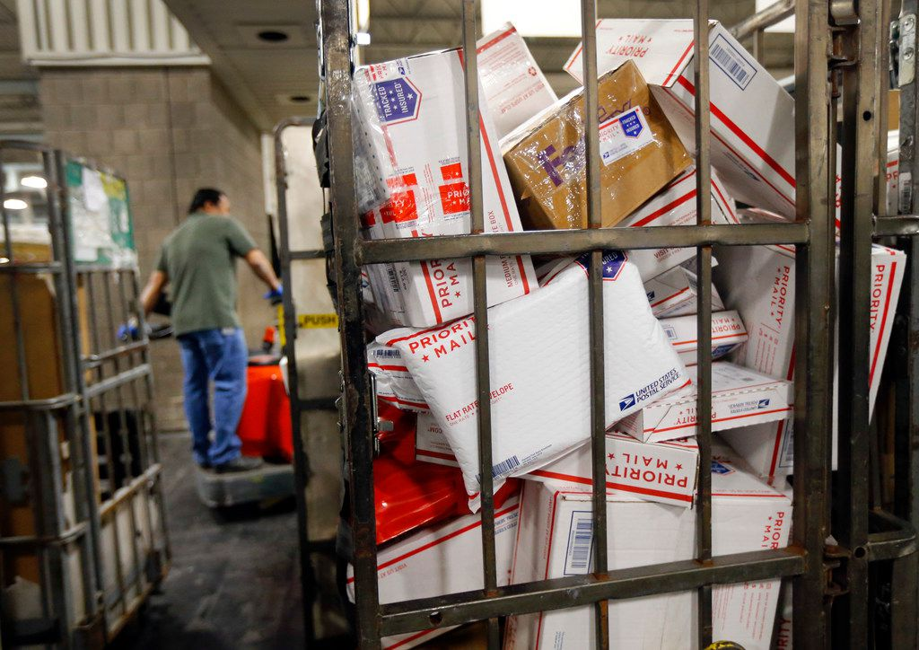 The U.S. Postal Service's North Texas Processing & Distribution Center in Coppell has reopened after a mercury spill.