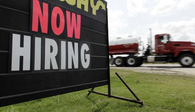 Texas led the nation in job growth in 2013, but employment growth was down from 2012.