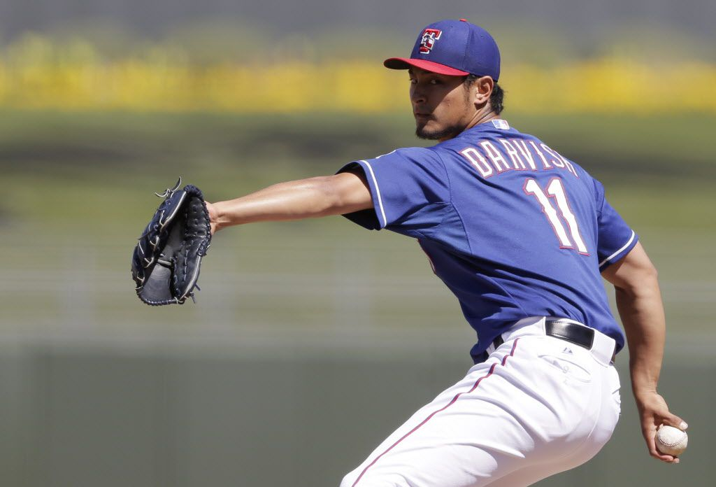 How low can Yu go? Yes, Matt Harrison is the Rangers' opening day starter, but make no mistake – the Rangers need Yu Darvish to be their best pitcher in 2013. While Harrison has been steady and reliable over the last two seasons, there are few pitchers in the majors who can match Darvish's stuff. He struggled at times as a rookie (as expected), but Darvish looked like an ace down the stretch, posting a 1.85 ERA and a 10.1 K/9 ratio over his last six starts. If he can keep his ERA around 3.30 in 2013, it would be big for Texas.