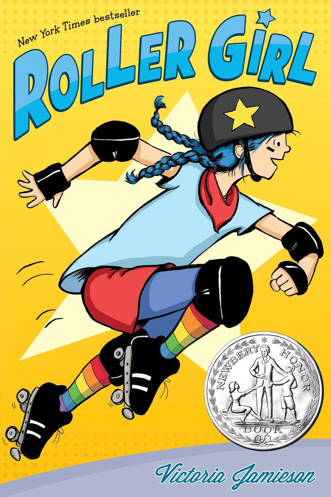 Victoria Jamieson's graphic novel Roller Girl won the Newbery Honor and Texas Bluebonnet Award, among other prizes.