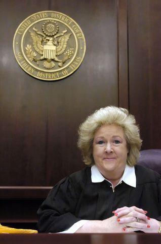 U.S. District Court Judge Janis Graham Jack in December 2005