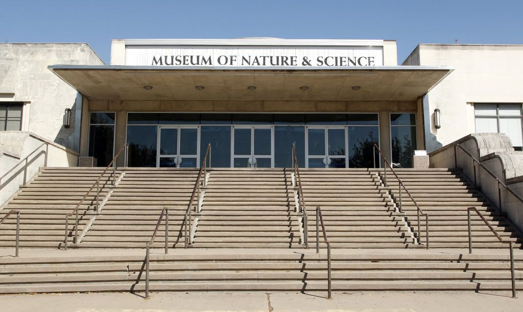 The former Museum of Nature & Science at Fair Park, pictured on Feb. 27, 2014.