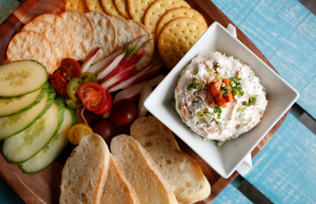 Hickory and alder wood smoked salmon spread