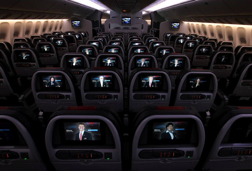 American Airlines said the free movie, television and music offerings will be available on its in-flight entertainment systems installed on about 300 planes.