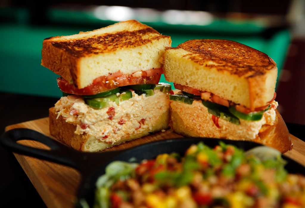 Mama Tried has a southern menu, with items like this pimento sandwich made with Duke's mayo. The Mama Tried in Irving will have a bigger menu than the one in Deep Ellum.
