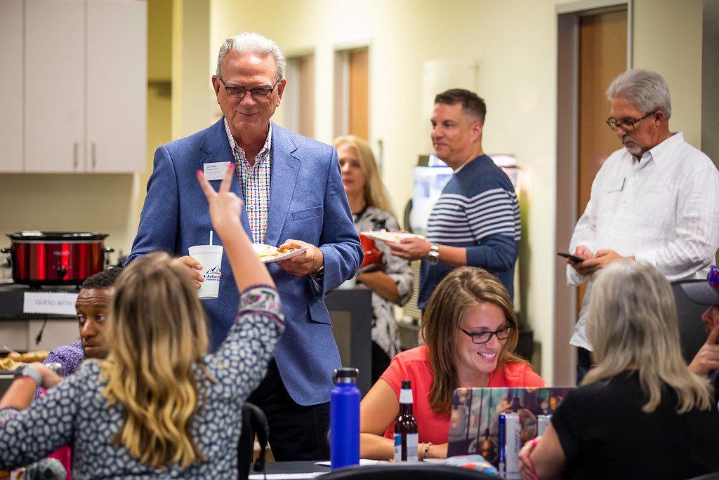 President and CEO Jim Fite attended the Century 21 Judge Fite happy hour on Aug. 14 in Mansfield.
