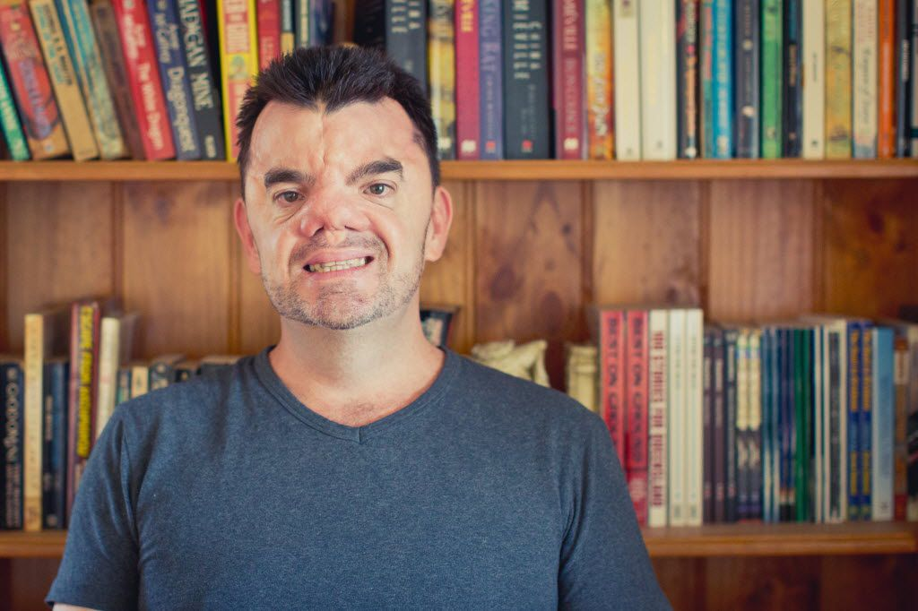 Robert Hoge, the author of 'Ugly', is coming to Arts & Letters Live.