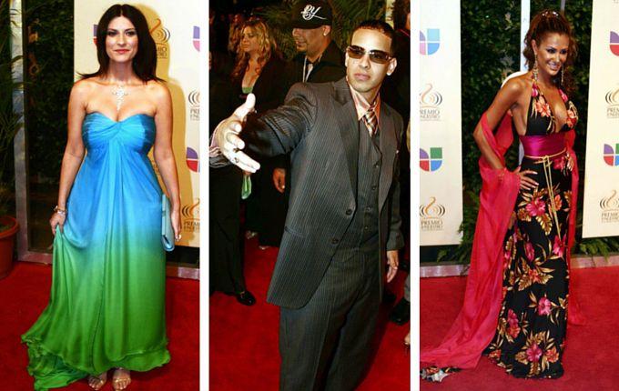Esta fue la moda en la entrega de Premios Lo Nuestro del 2006./AP