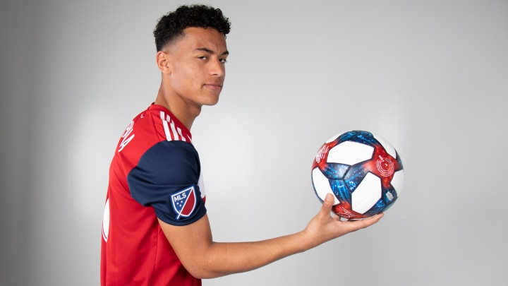 Brandon Servania, just back from the U20 World Cup, scored a fantastic goal against New Mexico United in FCD's 2-1 loss during the Round of 16 of the 2019 US Open Cup.