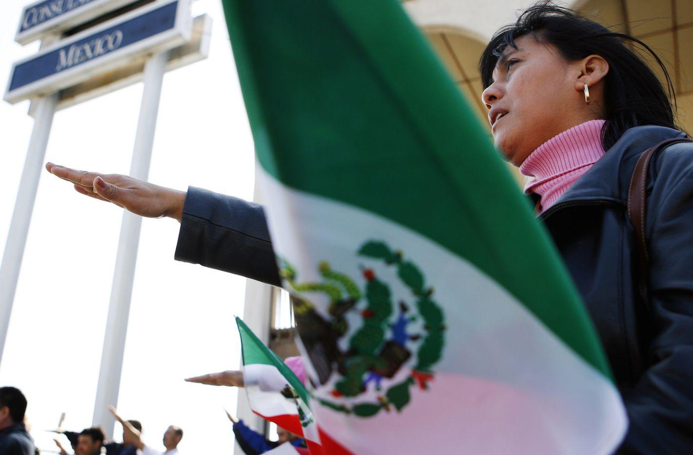 Consulado de México en Dallas.