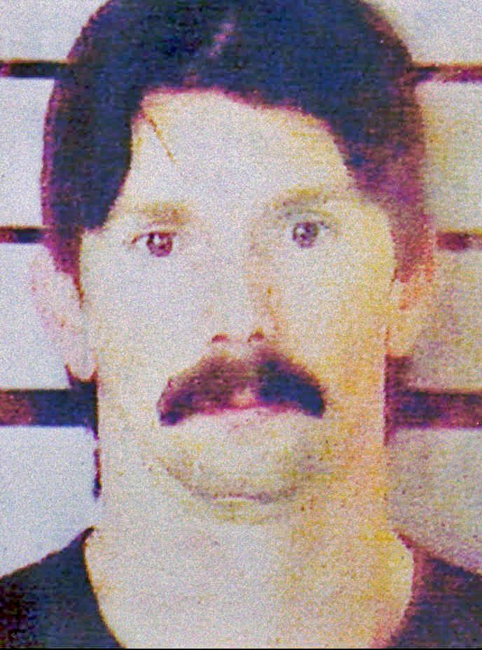 Peter Langan, now known as Donna Langan, as she appeared in an undated law enforcement booking photo.