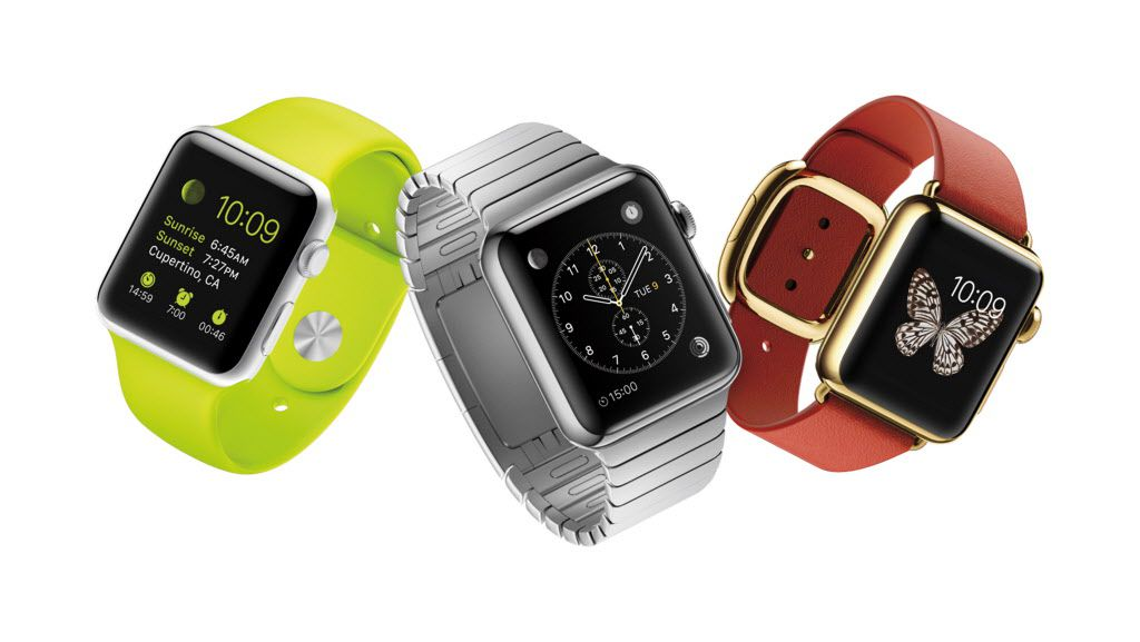 The Apple Watch comes in three distinctive styles: the Apple Watch, the Apple Watch Sport and the Apple Watch Edition.