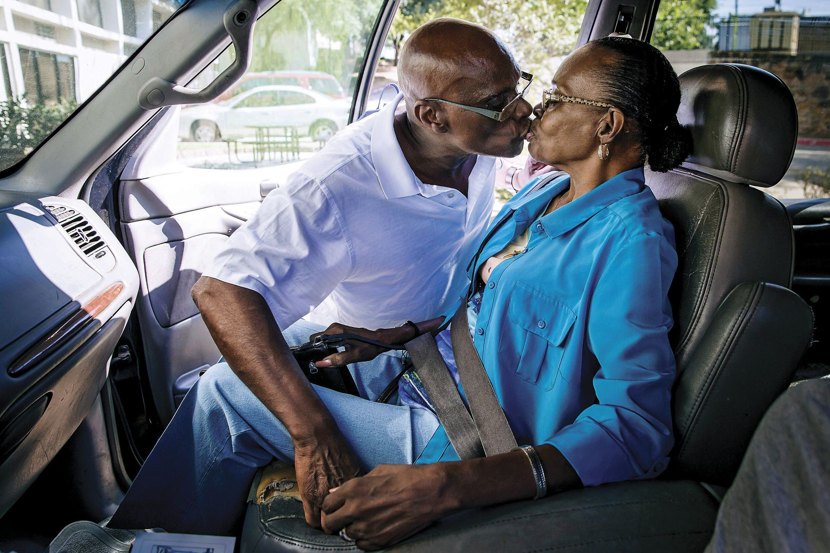 Herbert Taylor kissed his wife, Laura, goodbye as she left for a trip to a senior club on June 23. He became her caretaker after she had brain surgery because of a life-threatening aneurysm.