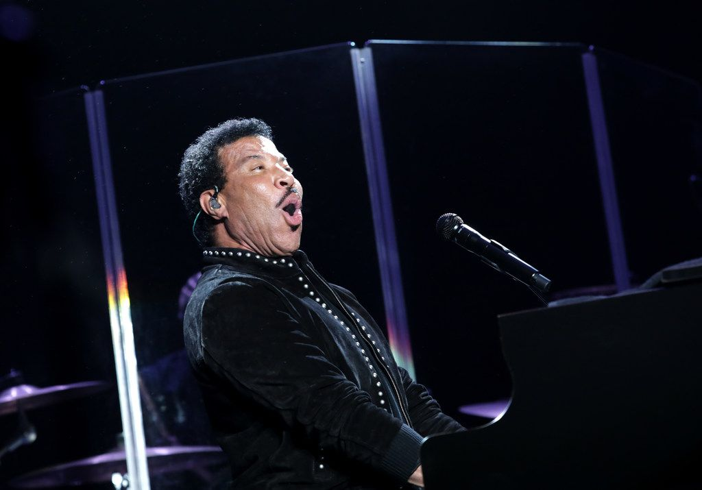 Lionel Richie performs during Kaaboo Texas at AT&T Stadium in Arlington, TX, on May 10, 2019. (Jason Janik/Special Contributor)