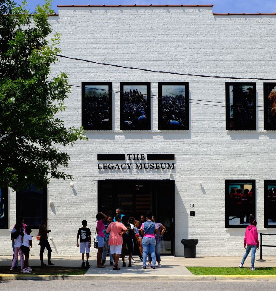 The Legacy Museum tracks racial injustice from enslavement through mass incarceration.