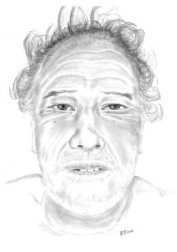 Police released a sketch of a man killed in a crash Nov. 11. Anyone with information on the man's identity may contact the Dallas Police Department.