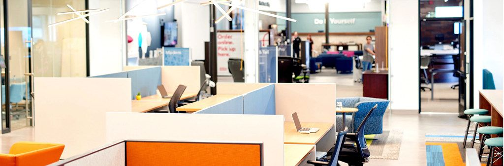 Office Depot is opening its second and third Workonomy Hub shared office centers in suburban locations in Dallas and Chicago.