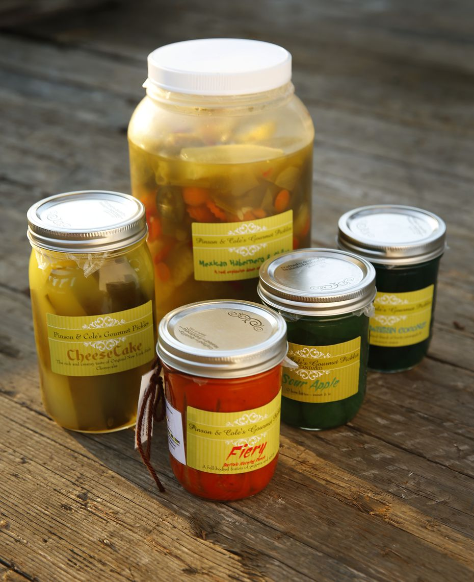 Pinson & Cole Pickles are sold at food festivals. Last year, its founder Stephanie Pinson-Cole said she sold out of cheesecake pickles at Taste of Dallas.