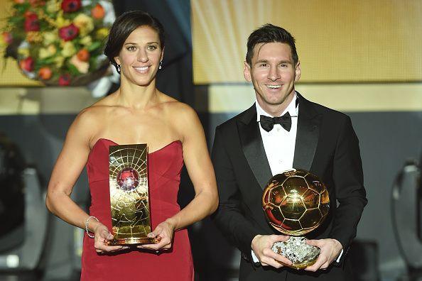 Carly Lloyd ganó el Balón de Oro a la mejor futbolista femenina del 2015 de la FIFA. / Fotos GETTY IMAGES