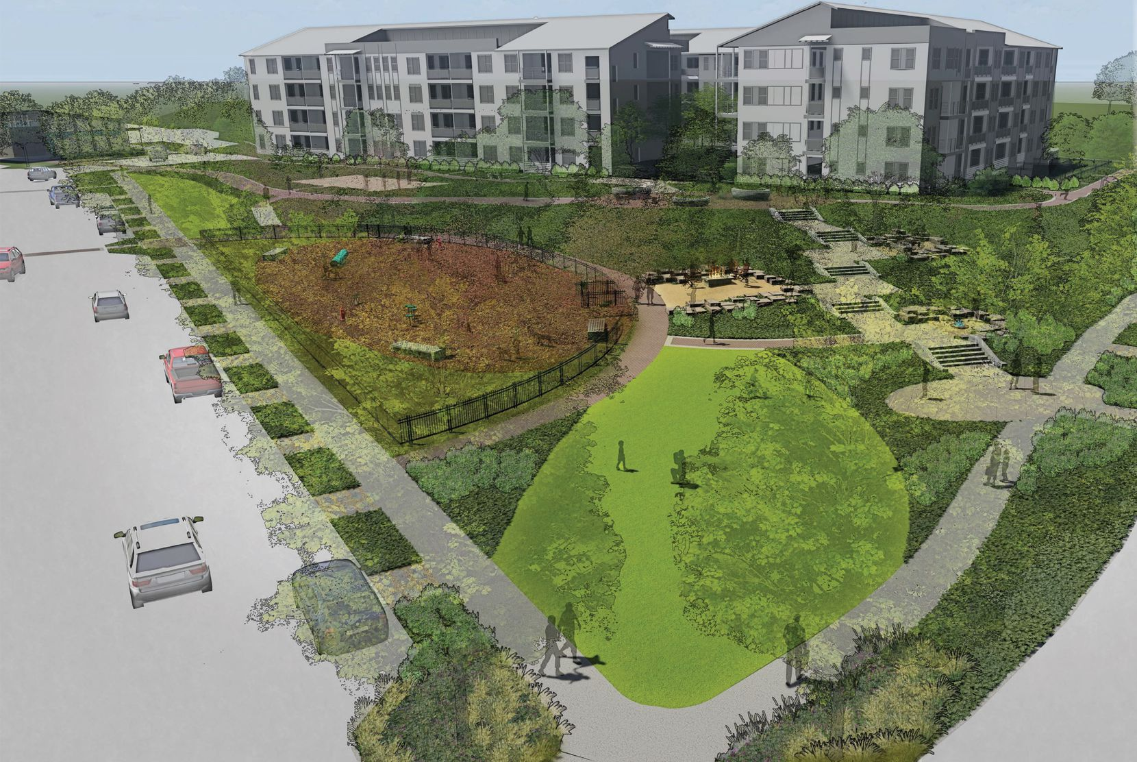 Bright Realty has broken ground on a second phase of its Discovery at The Realm apartments in Lewisville.
