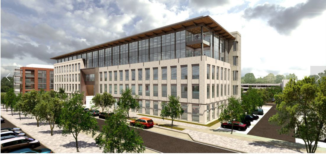The 3201 Olympus building will be 250,000 square feet.