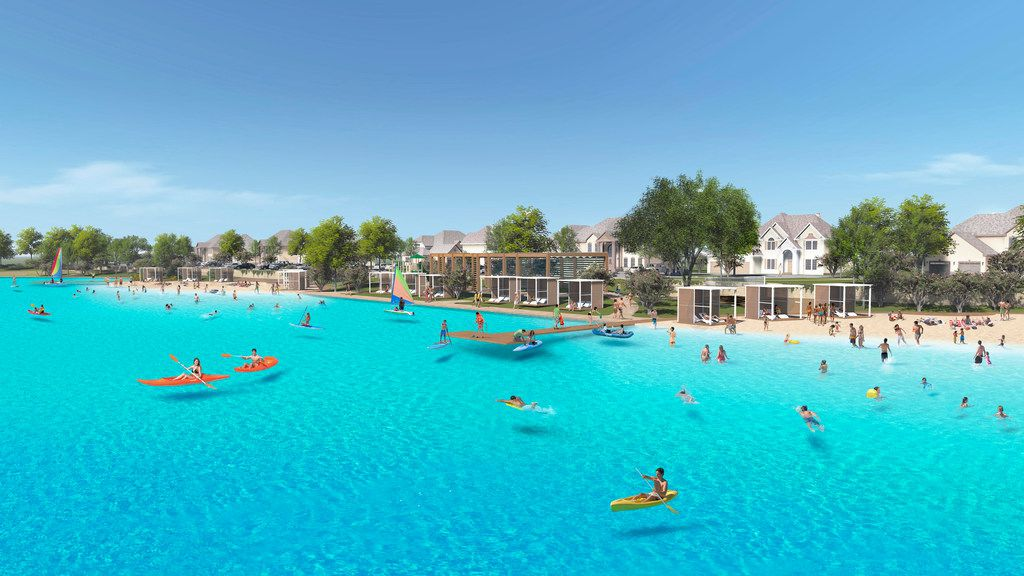 Windsong Ranch's 5-acre crystal lagoon is scheduled to open in 2019.