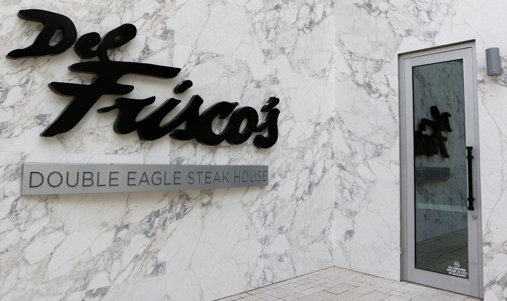 Del Frisco's Double Eagle Steak House will open its new location in Plano on May 3, 2017. The new restaurant will seat 460 people. They have over 9,000 bottles of wine in stock for their customers. Photo taken on Friday, April 28, 2017. (David Woo/The Dallas Morning News)