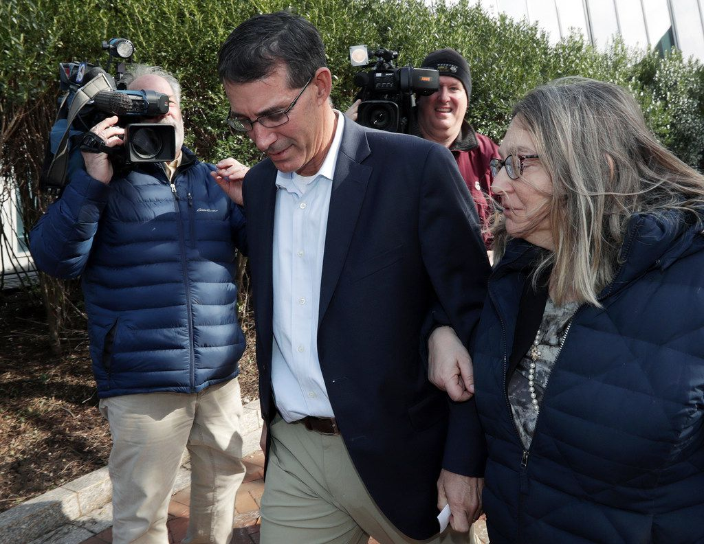 Former University of Texas tennis coach Michael Center pleaded guilty Monday in connection with the nation's college admissions scandal.