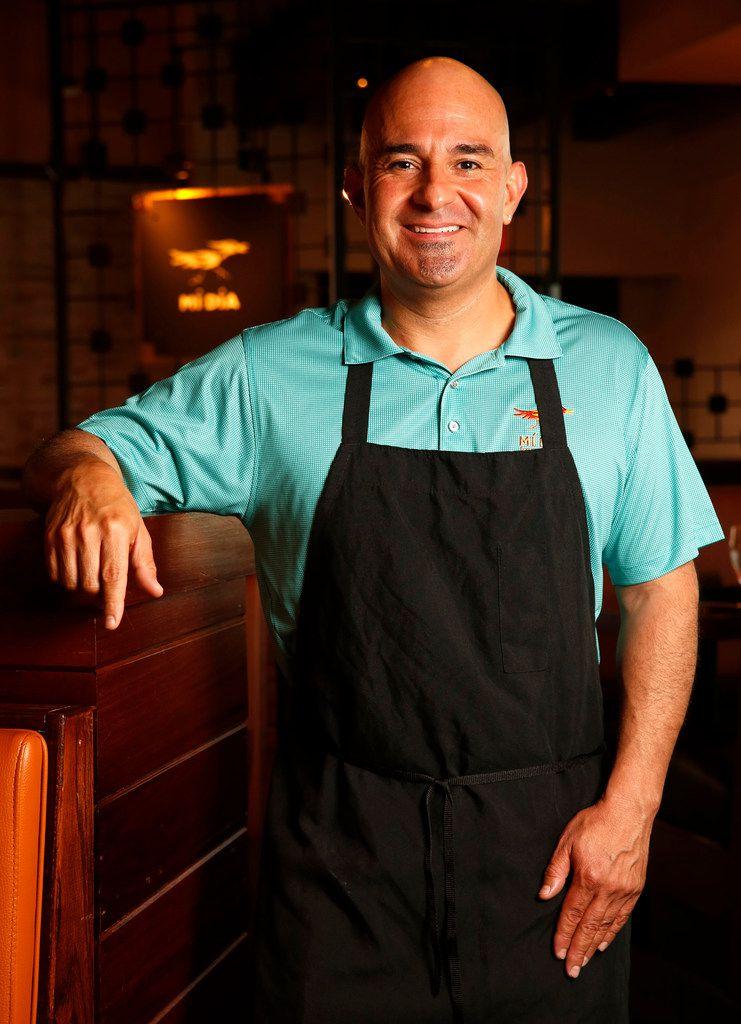 Chef Gabriel DeLeon at Mi Dia From Scratch in Plano