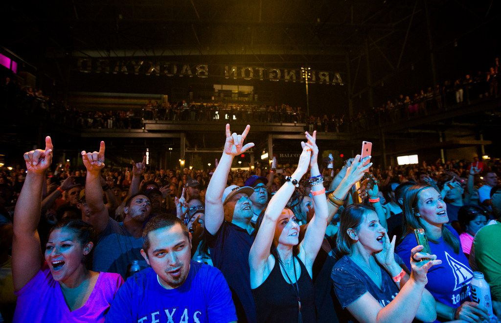 Alt-rockers The Toadies performed to an adoring hometown crowd during the grand opening celebration for Texas Live on Aug. 9, 2018 in Arlington.