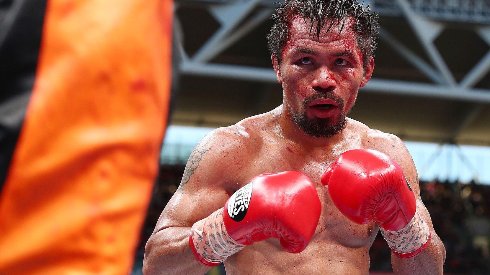 Manny Pacquiao ganó 59 combates, 38 de ellos por nocáut. Matthysse suma 39 victorias (36 por nocáut). (Getty Images/Chris Hyde)