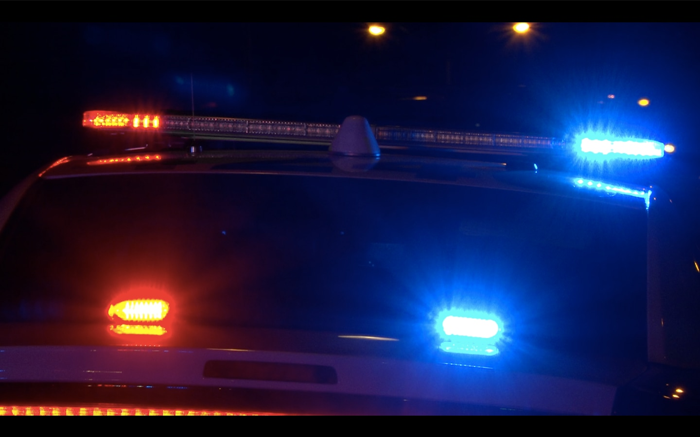 The woman was struck in the head by a bullet while she slept in her bed shortly before 2 a.m. in the 2600 block of Franklin Drive, near Butterfield Drive, police said.
