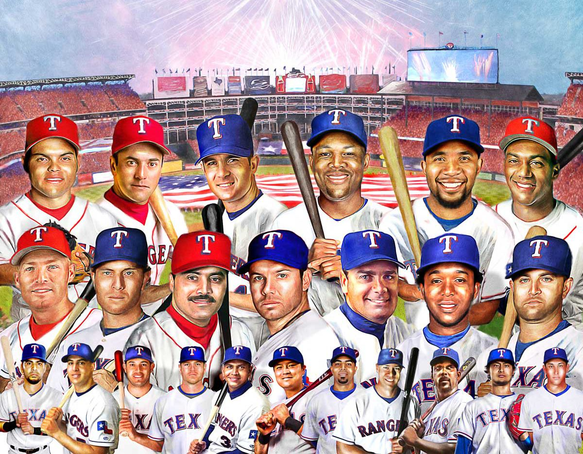 The best Rangers to ever play at Globe Life Park, as selected by the fans and the club.