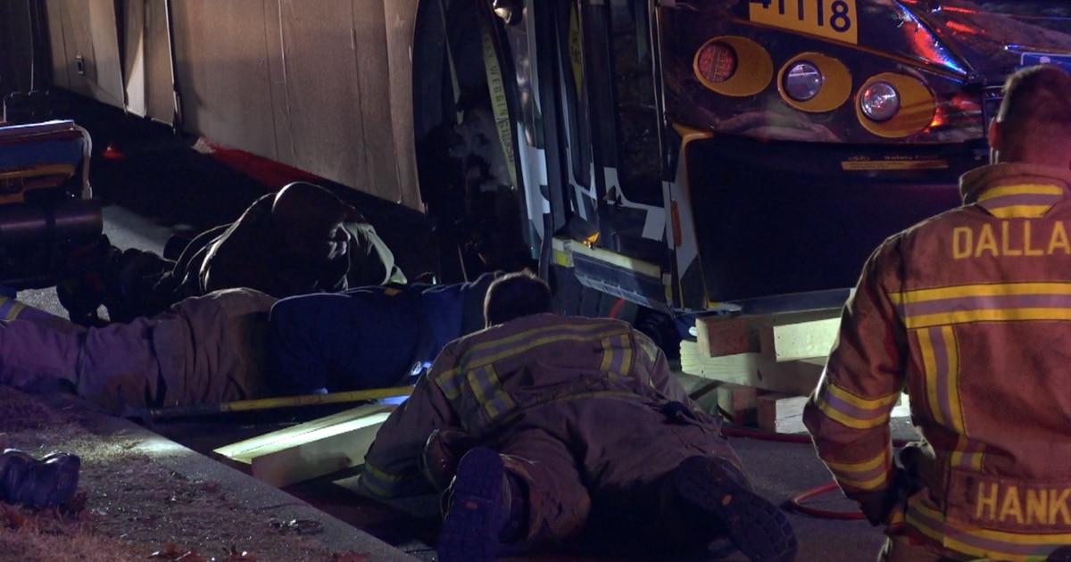 Un peatón murió el miércoles tras ser atropellado por un autobús de DART. DMN