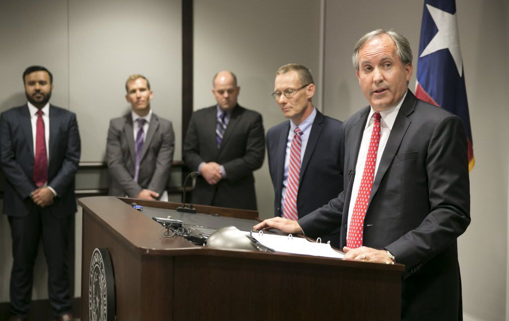 In May, Attorney General Ken Paxton announced Texas' lawsuit challenging President Barack Obama's transgender bathroom order.