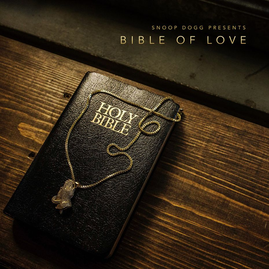 "The cover art from Snoop Dogg's Gospel album, ""Bible of Love."""