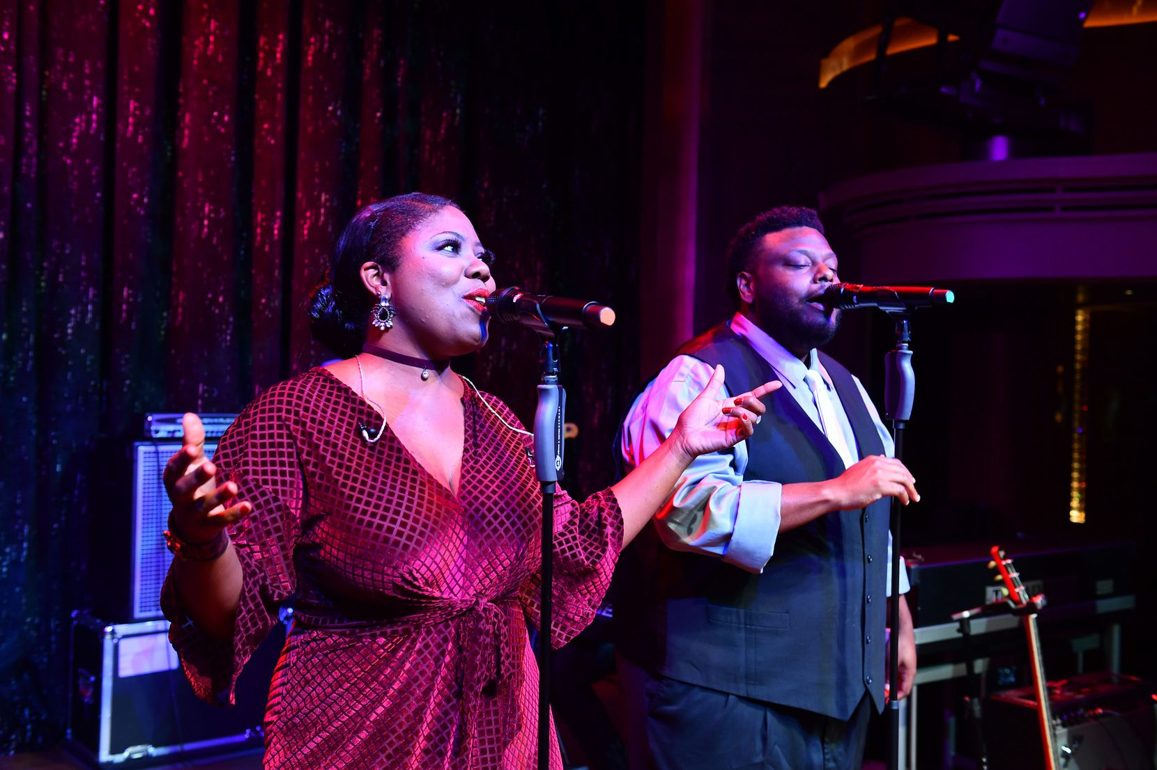 Musicians perform in B.B. King's Blues Club, which operates on five Holland America Line vessels.