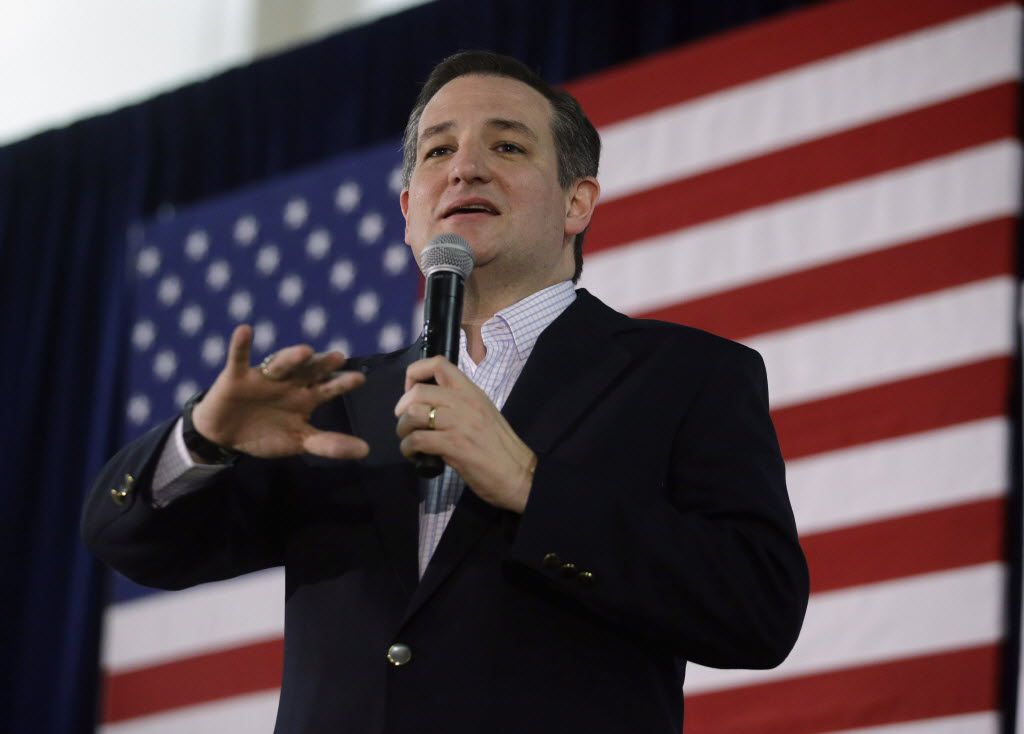 Republican presidential candidate Ted Cruz has repeatedly dismissed allegations that he is ineligible for the presidency. (Marcio Jose Sanchez/The Associated Press)