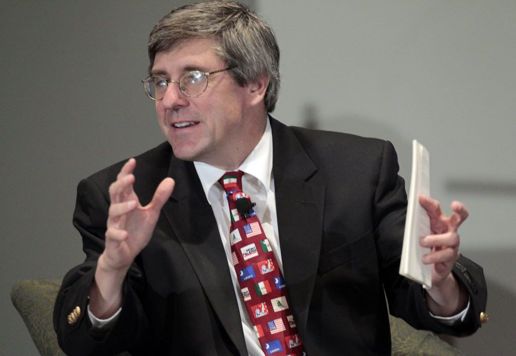 "President Donald Trump's heart is in the right place on international commerce, but he ""is playing a very dangerous game with trade,"" says Stephen Moore, one of the president's economic advisers."