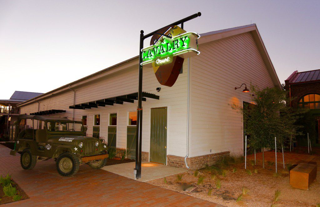 Cavalry Court hotel in College Station