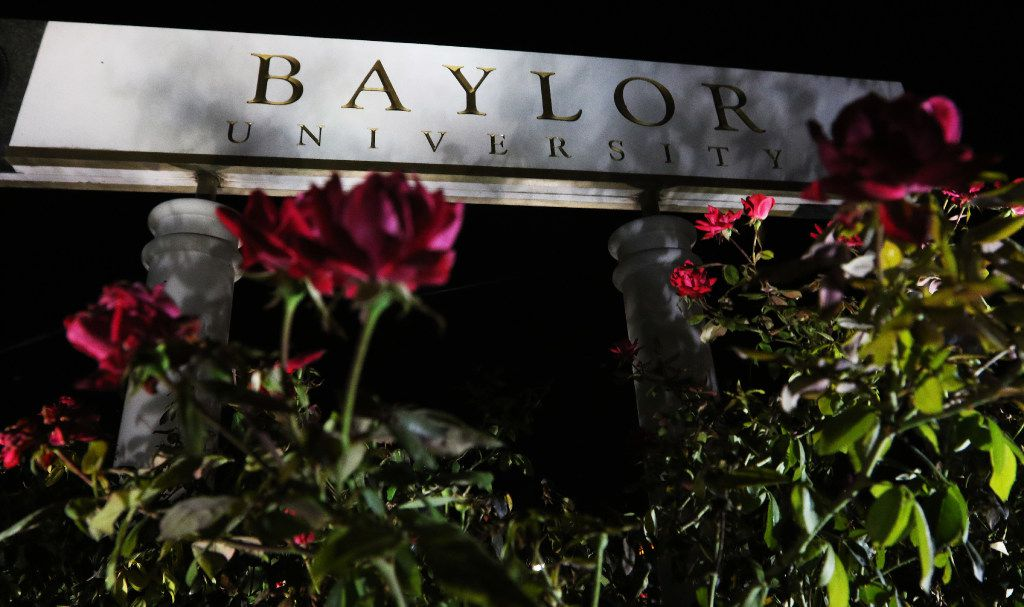 A picture of a Baylor University sign on the campus of Baylor University on Nov. 13, 2016 in Waco, Tx. (Irwin Thompson/Staff Photographer)