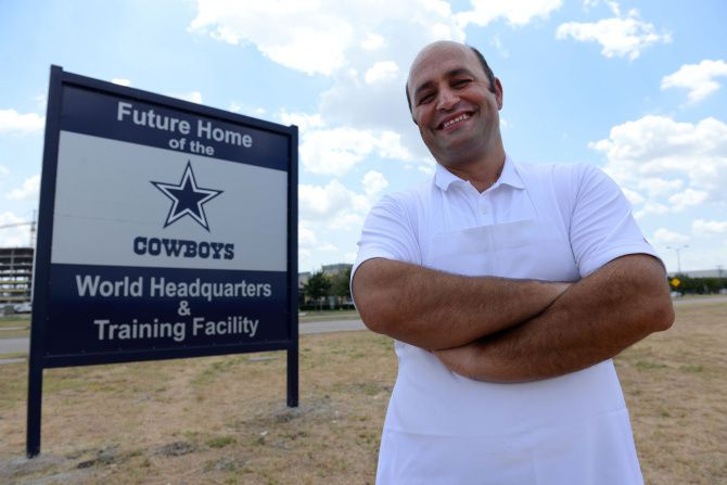 Frisco neighbors excited about Cowboys coming to town