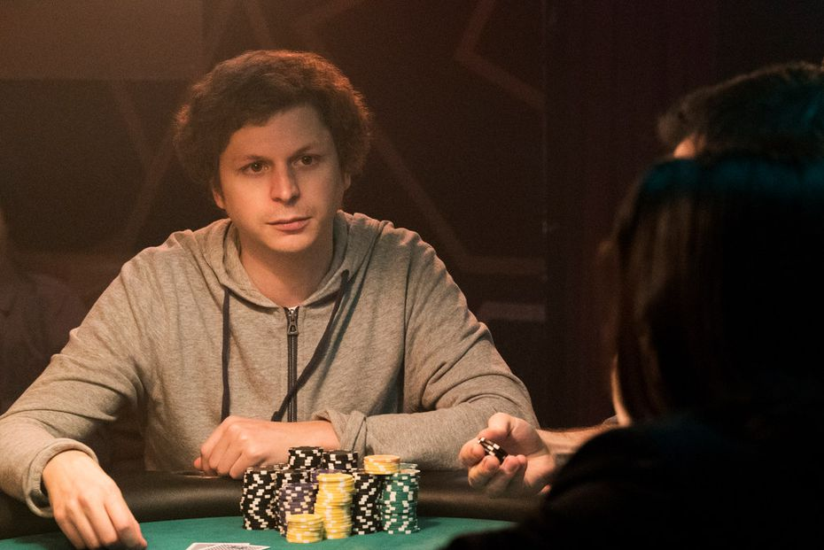 "Michael Cera in a scene from, ""Molly's Game."""
