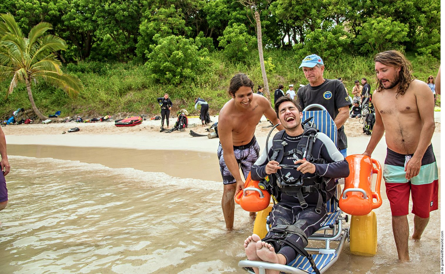 La plataforma Wheel the World presenta opciones de viajes accesibles para personas con discapacidad en Latinoamérica y otros destinos como Estados Unidos y Tanzania.